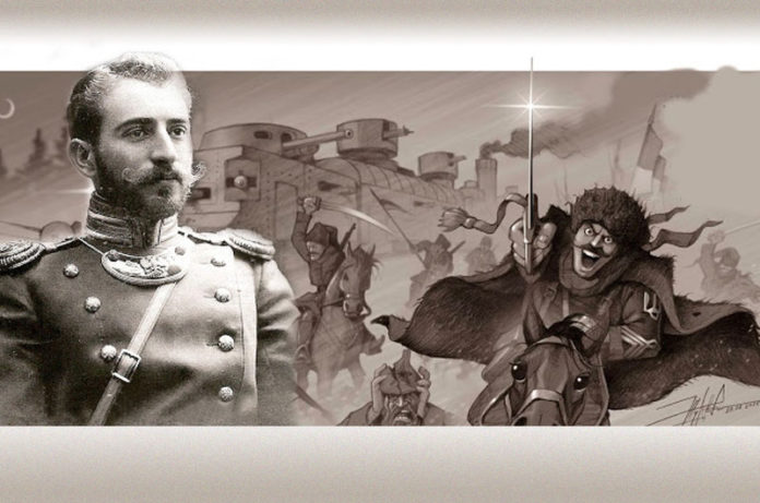 Петро Болбочан. AdverMAN