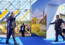 Президент України Петро Порошенко і президент Словаччини Андрій Кіска. Новини України сьогодні. AdverMAN