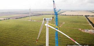 Вітрова електростанція в Україні. AdverMAN