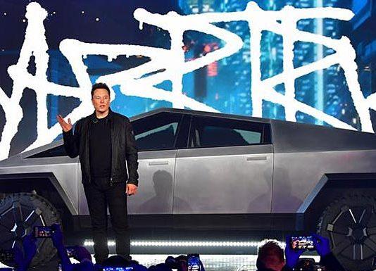Tesla Cybertruck. AdverMAN