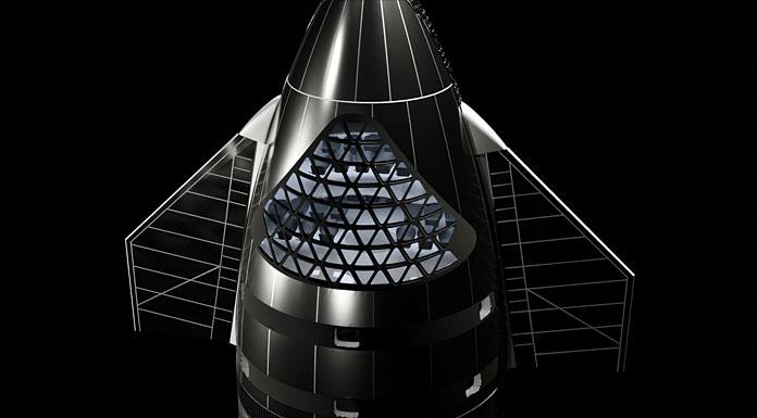 Концертна зала на SpaceX Starship | Erc X