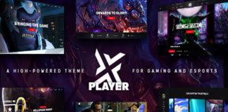 Player WordPress theme